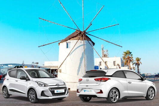 Outstanding Paros Car Rental services in Parikia from Paros2Go